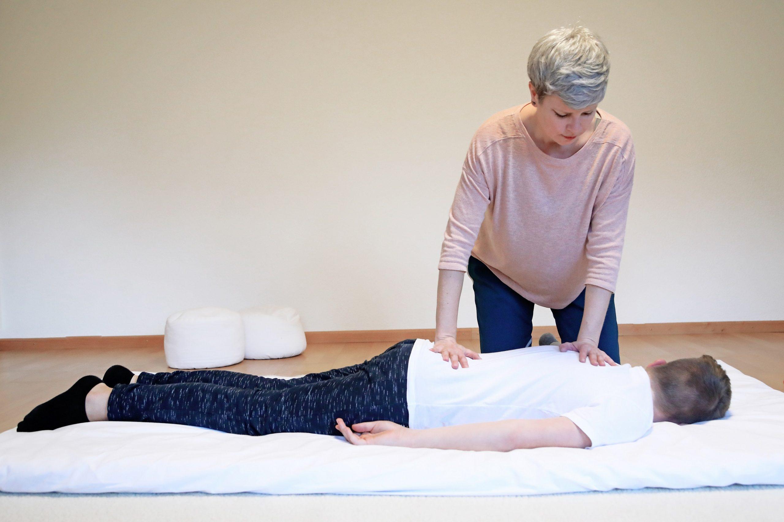 Shiatsu Massage Rückenbehandlung